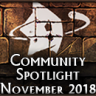 Community Spotlight - November 2018
